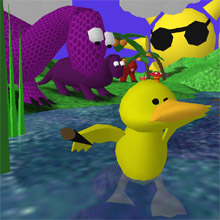 Screenshot of Super Splash 3D